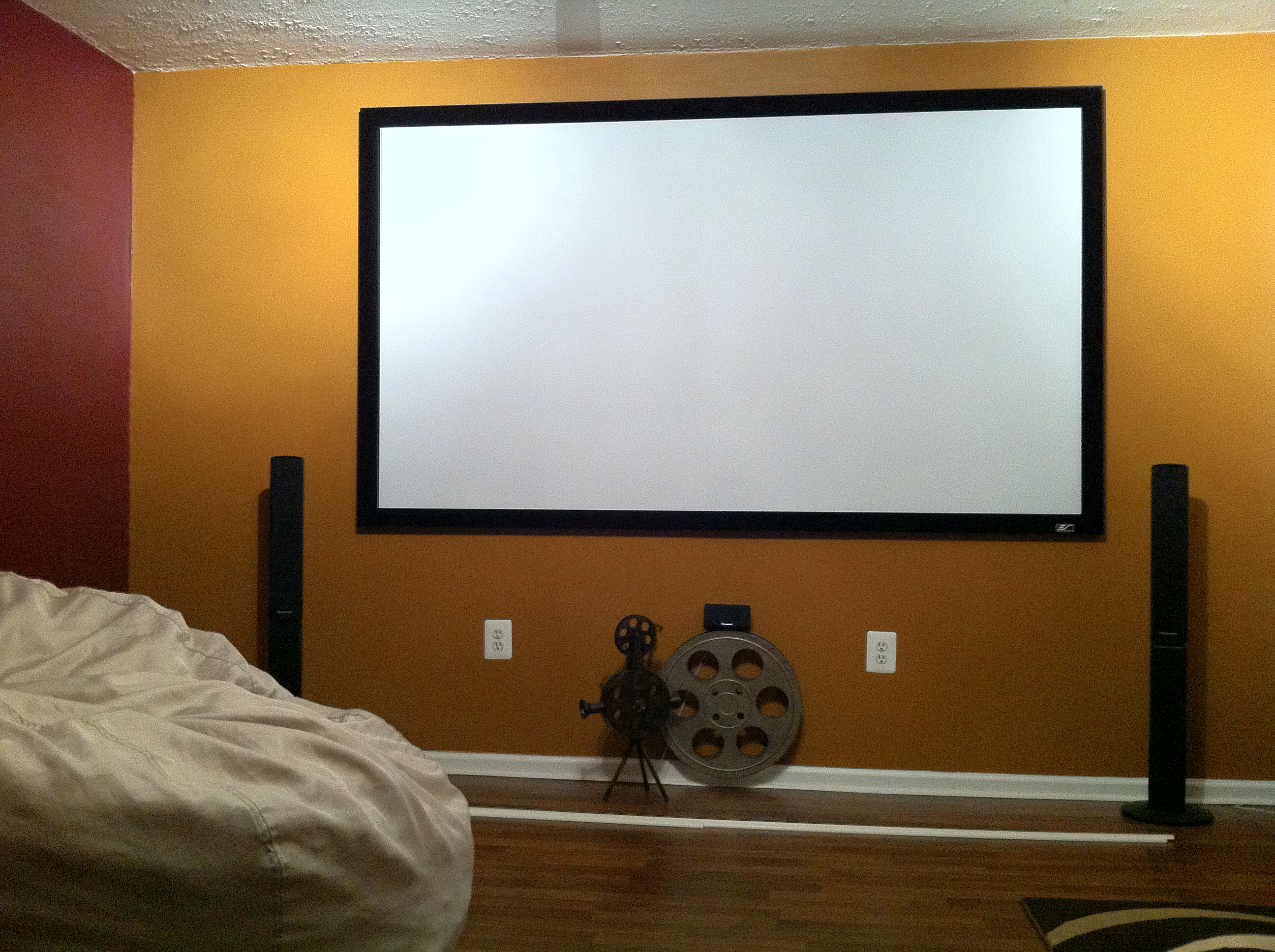 DIY 100″ Home Theater for Under $1700