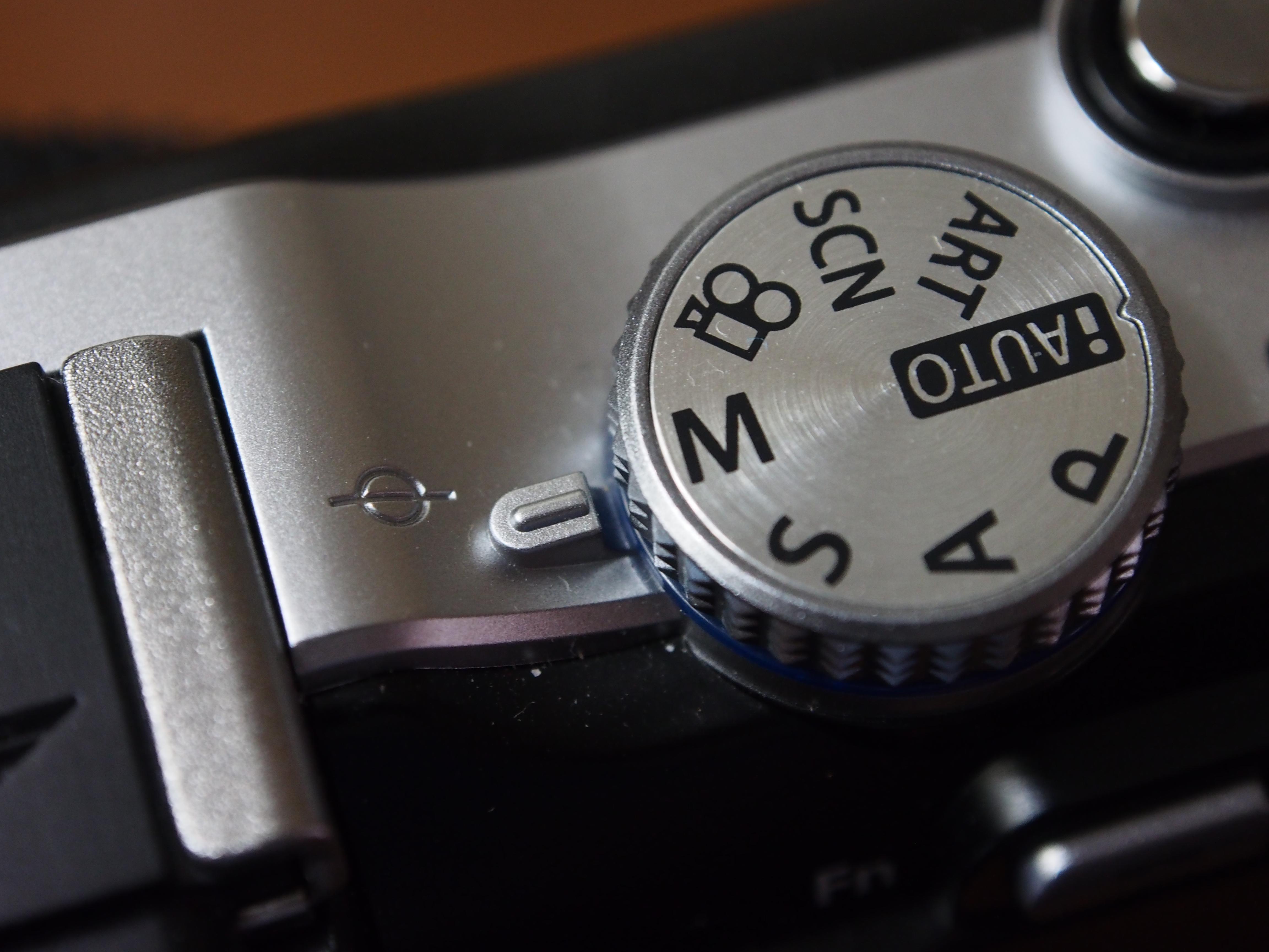 Camera control knob