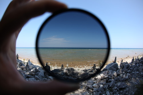 How to use your Circular Polarized Filter