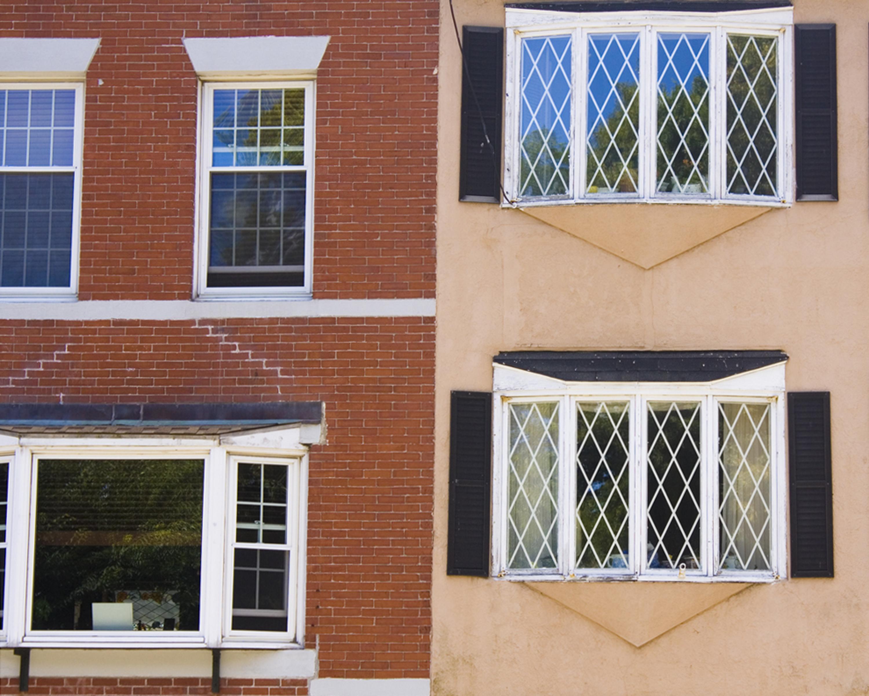 Split Houses Boston by Margaret David
