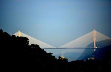 Centennial Bridge Panama Canal by Weston Wishart