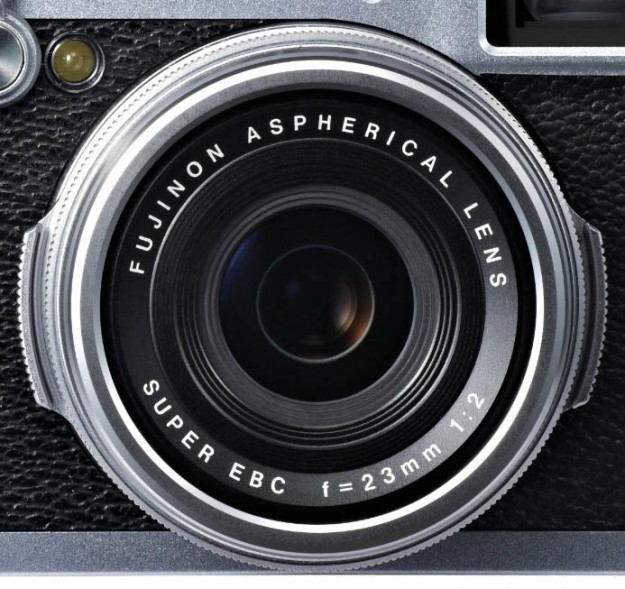 There is a ring around the lens, behind the focus ring, for adjusting your aperture.