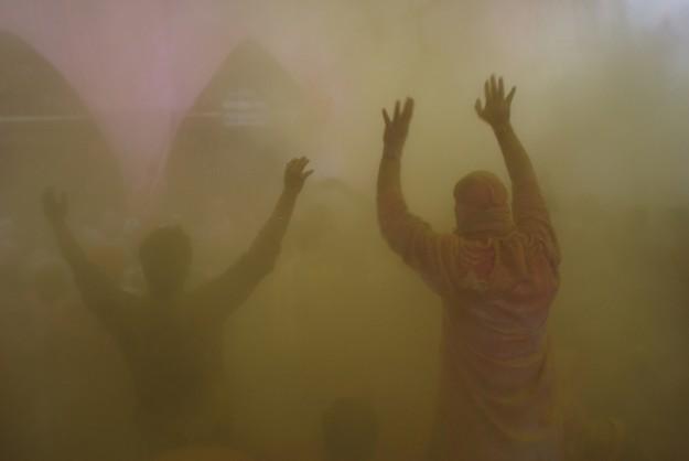 Holi, the festival of color, India- 4