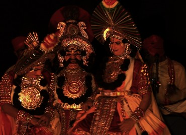 KamsaVadhe in performance