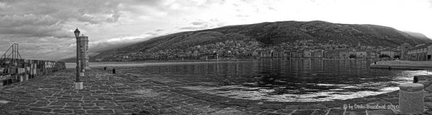 2. photo view of the city from the pier Senj, Croatia