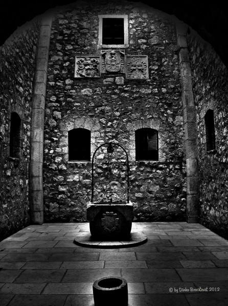 fortress Nehaj -  interior Senj, Croatia