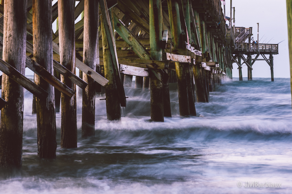 Photographing the cherry grove fishing pier in south for Cherry grove pier fishing report