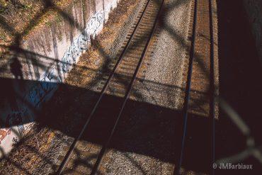 Railroad Self Portrait