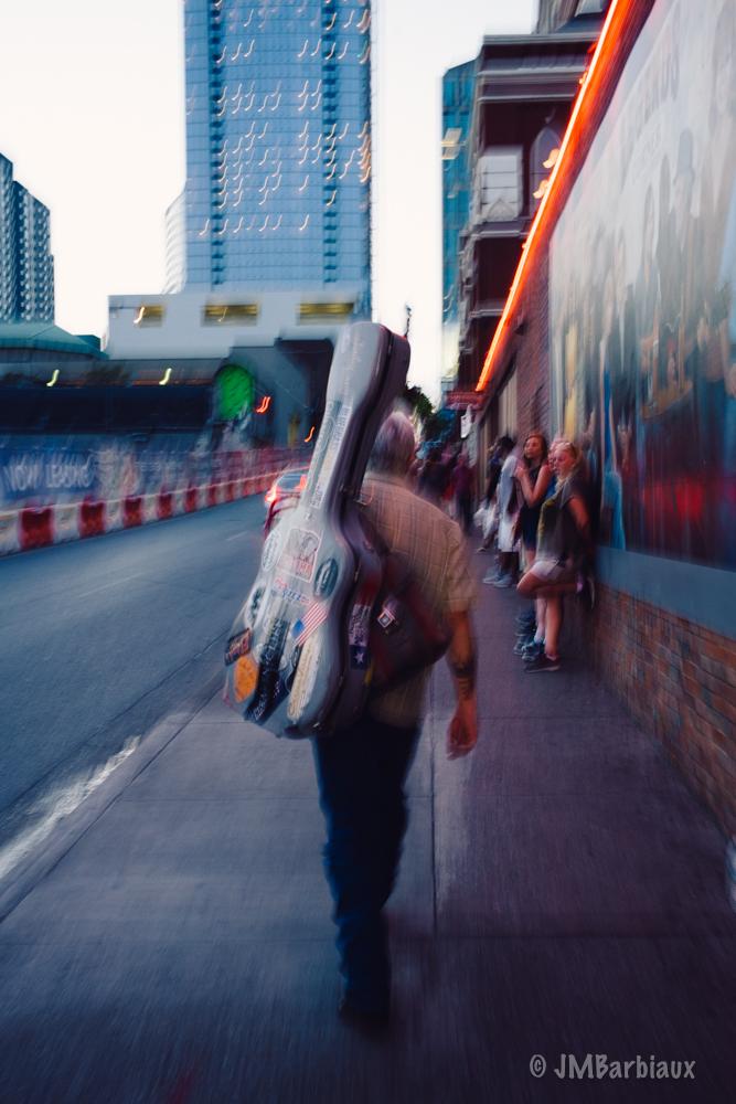 Nashville, street photography, musician, guitar
