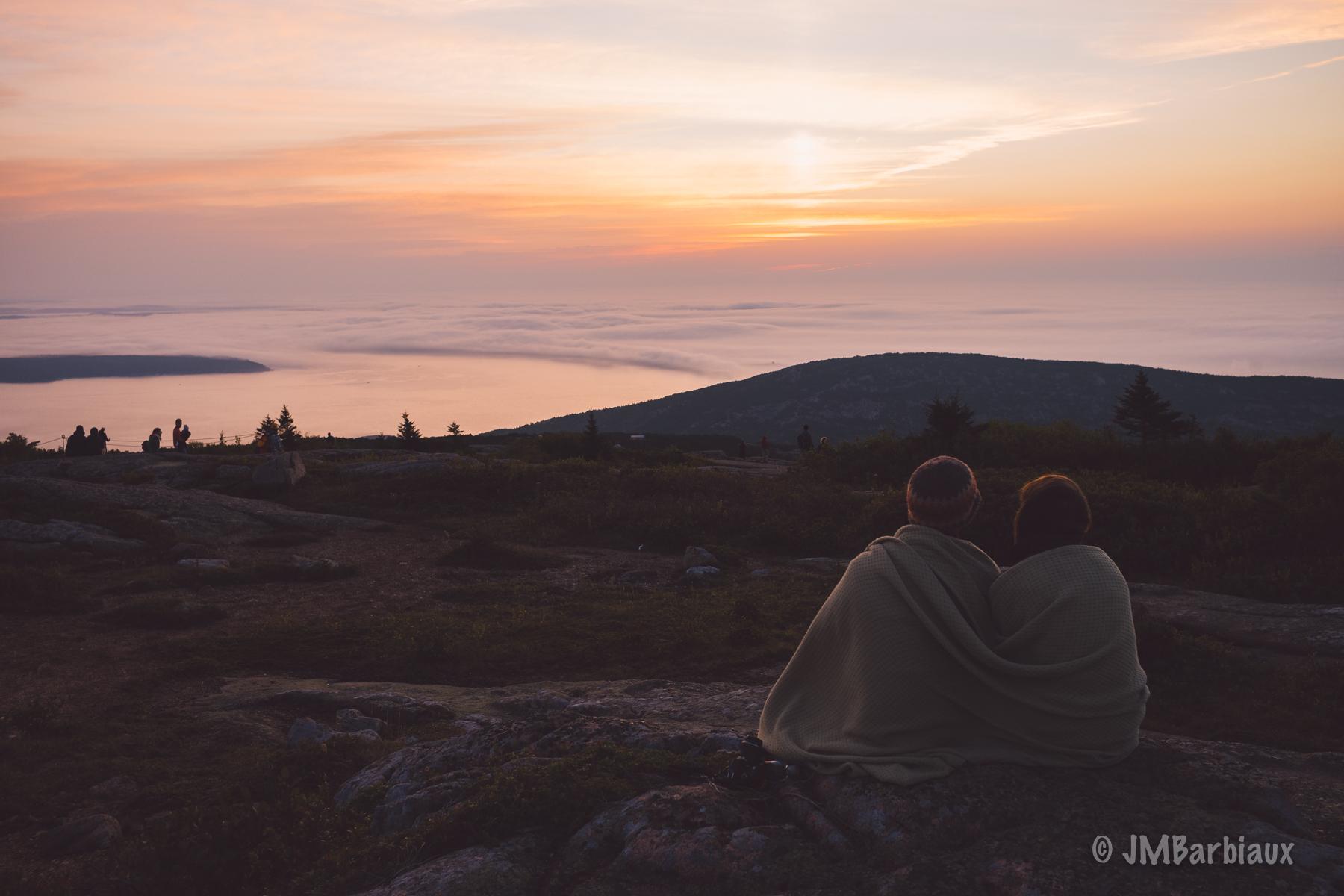 Cadillac Mountain, sunrise, leica m10, street photography, acadia national park