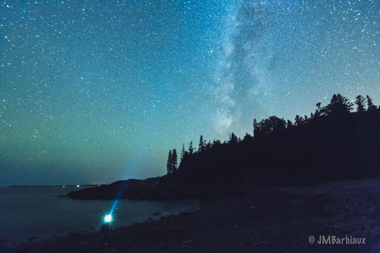 Acadia National Park, Nikon D850, landscape astrophotography, high iso