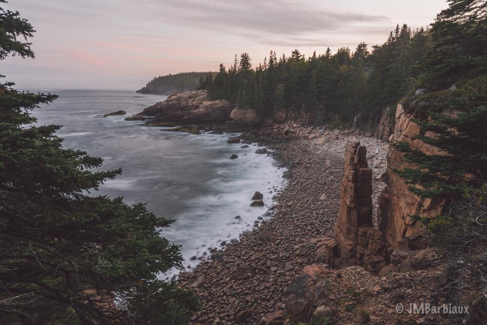 Monument Rock, Acadia National Park, landscape, fine art, long exposure, travel, hike, seascape, nikon d850