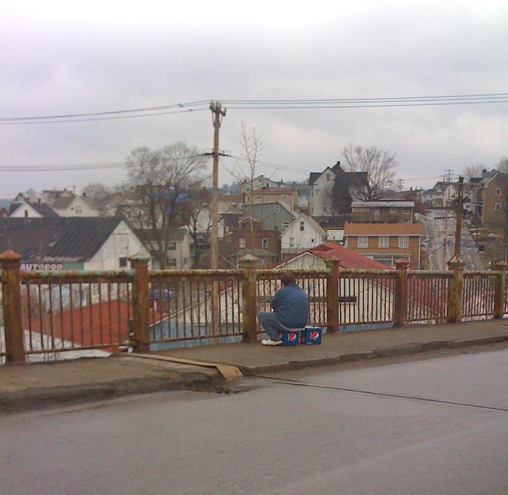 Photo, depression, recession, butler, Pepsi, town, sad, poor