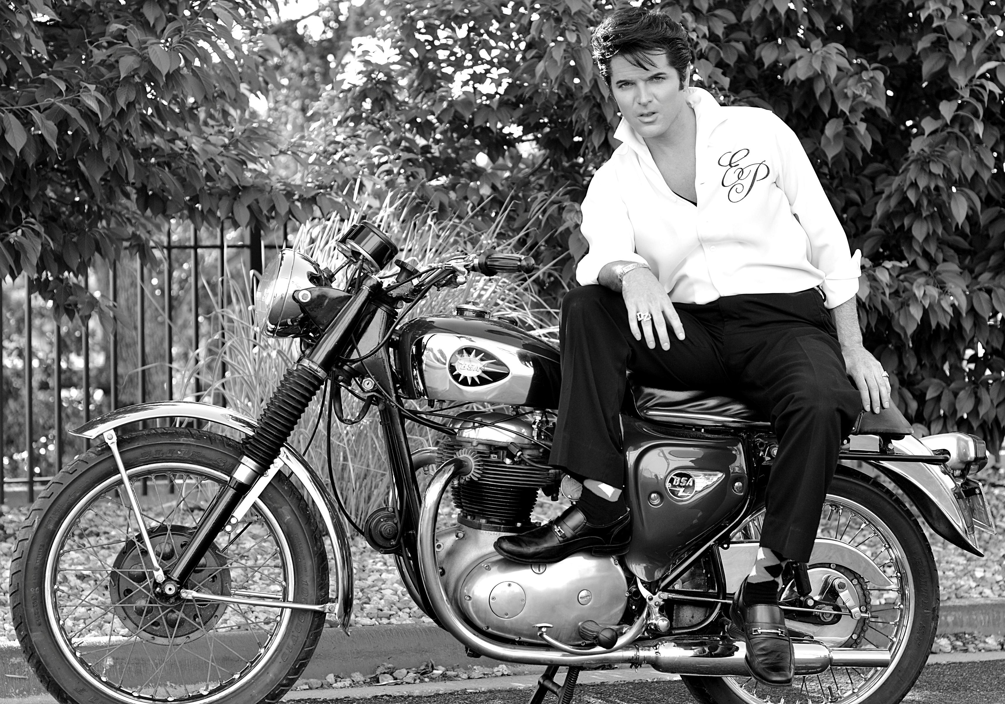Image result for elvis motorcycle